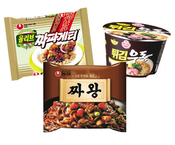 辛くない韓国インスタントラーメン13