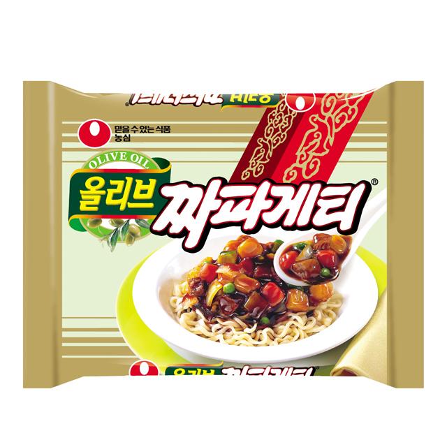 辛くない韓国インスタントラーメン7