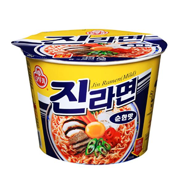 辛くない韓国インスタントラーメン10