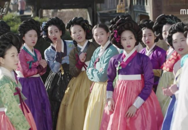 韓国ドラマ時代劇の衣装