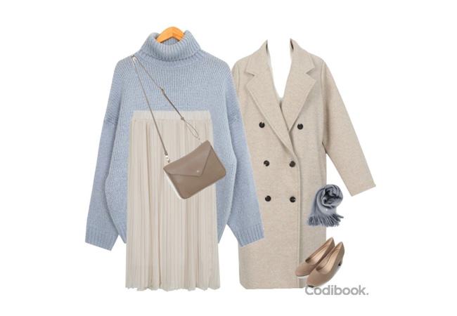 韓国ファッション冬コーデ3