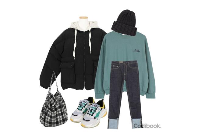 韓国ファッション冬コーデ6