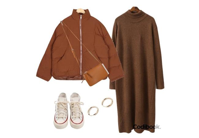 韓国ファッション冬コーデ7
