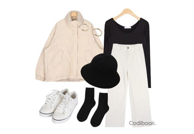 韓国ファッションコーディネート1