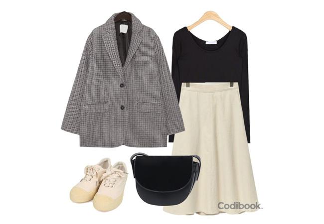 韓国ファッションコーディネート2
