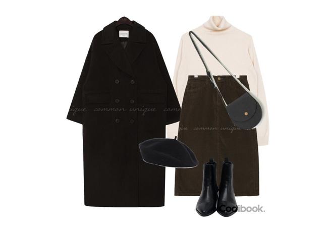 韓国ファッションコーディネート4