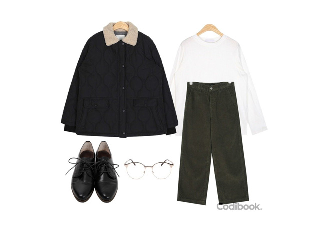 韓国ファッションコーディネート5