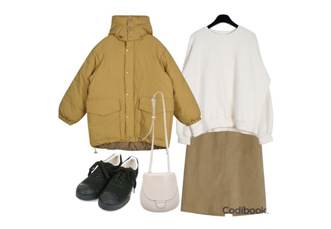 韓国ファッションコーディネート6