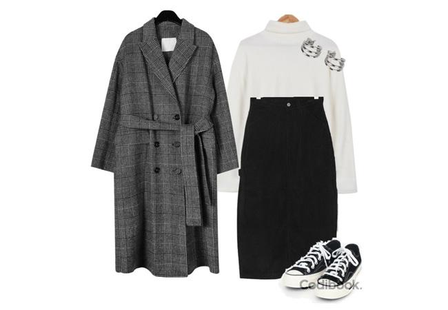韓国ファッションコーディネート8