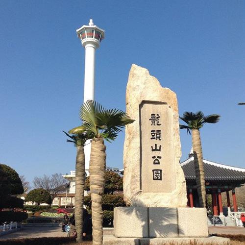韓国プサン南浦洞観光地