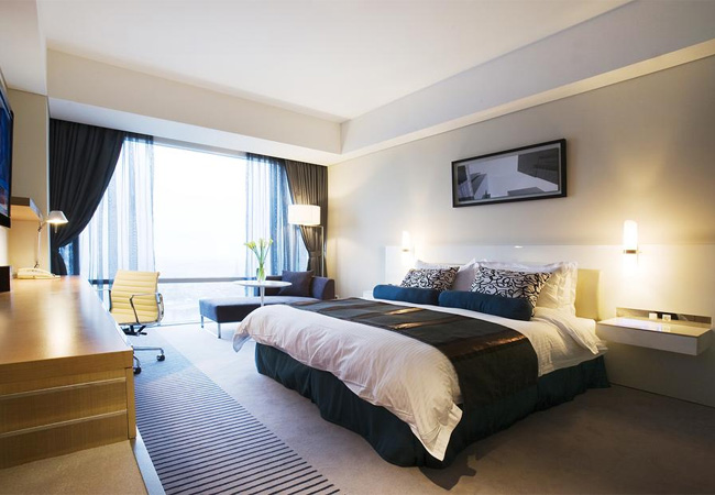 韓国水原人気のホテル