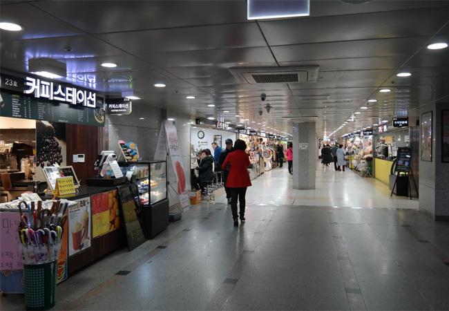 韓国水原ショッピングスポット