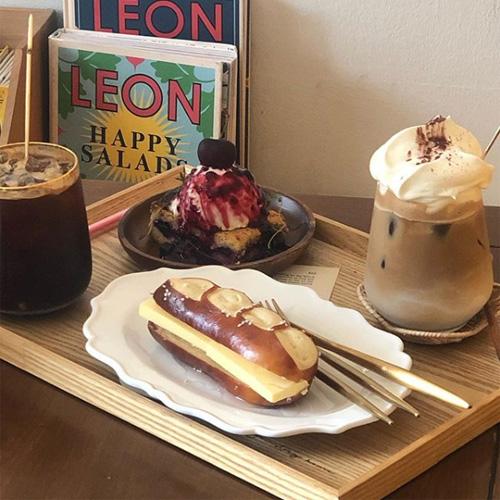 韓国仁川おしゃれカフェ
