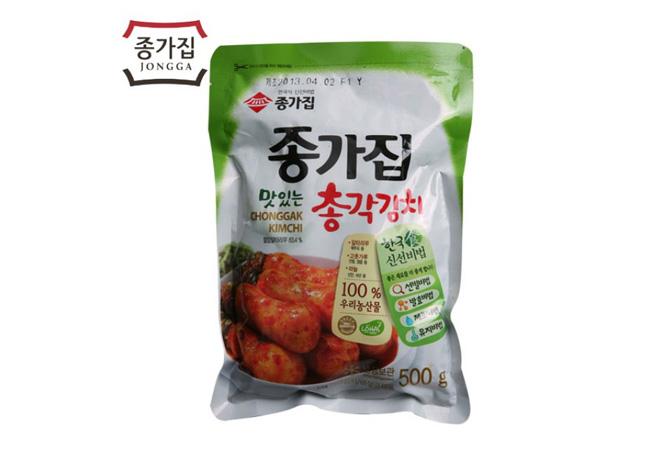 お土産韓国キムチ