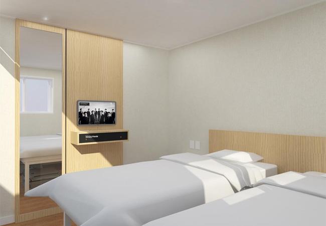 カップル韓国旅行ホテル
