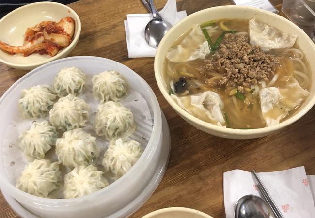 韓国一人旅ご飯