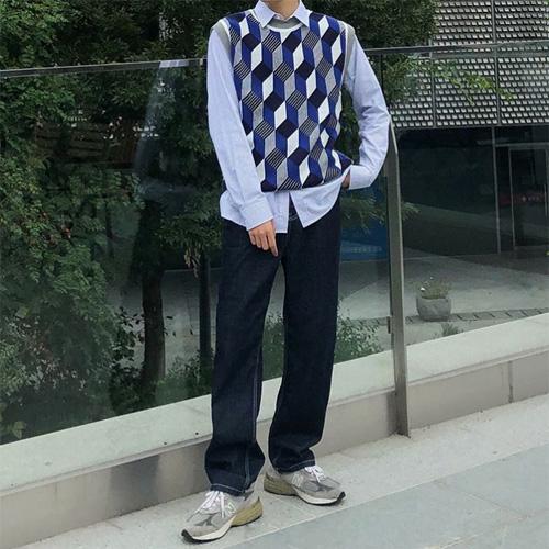 韓国メンズファッション秋コーデ