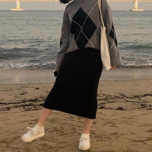 韓国レディース冬コーデ
