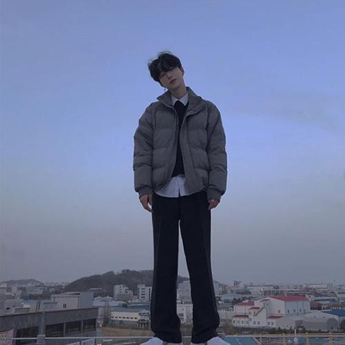 韓国メンズ冬コーデ