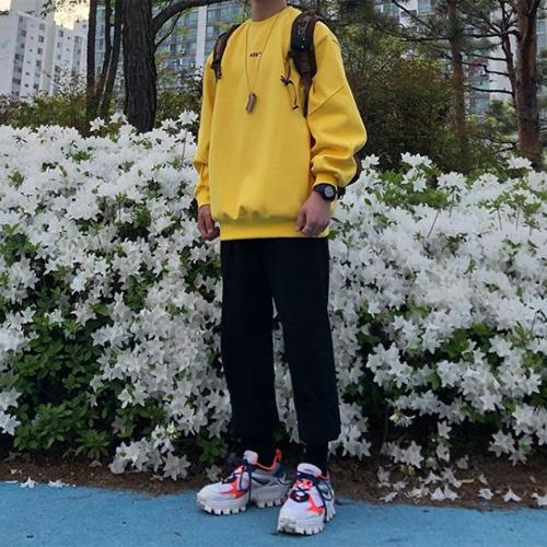 韓国メンズ春コーデ
