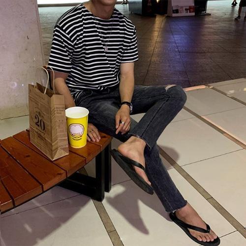 韓国ファッションメンズ夏コーデ