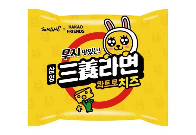 韓国チーズラーメン