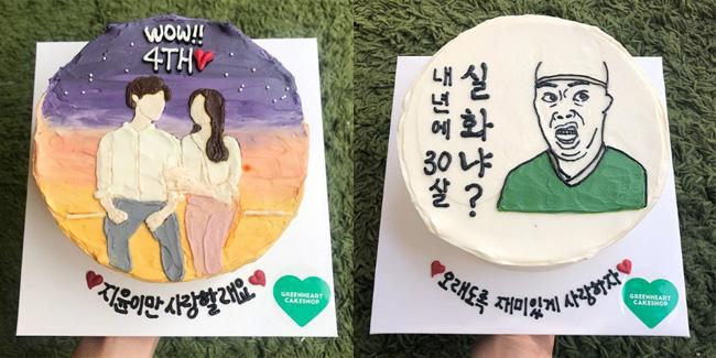 韓国おしゃれホールケ―キ店3