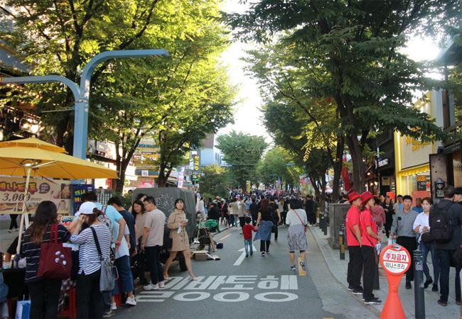 韓国ソウルの人気エリア
