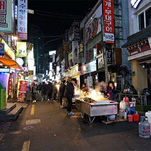 韓国プサン観光西面観光