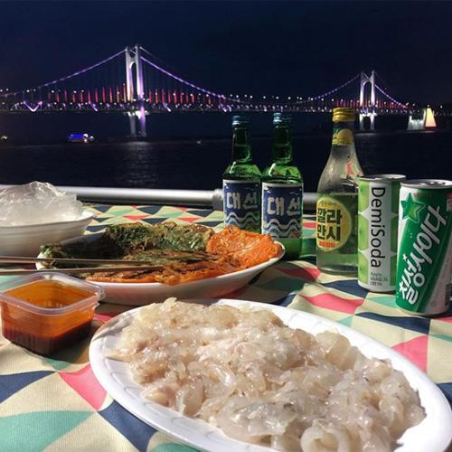 韓国プサン広安里観光