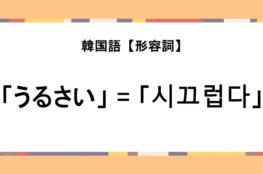 アニエヨ 韓国語